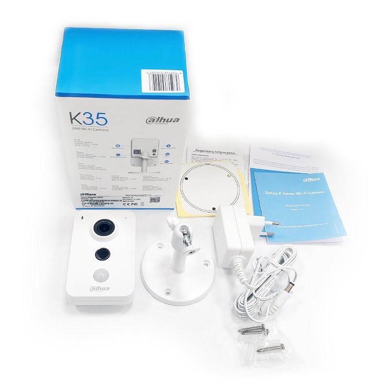 IPC-K35P 3 Mpx interiérová IP kamera s Wi-Fi a PIR